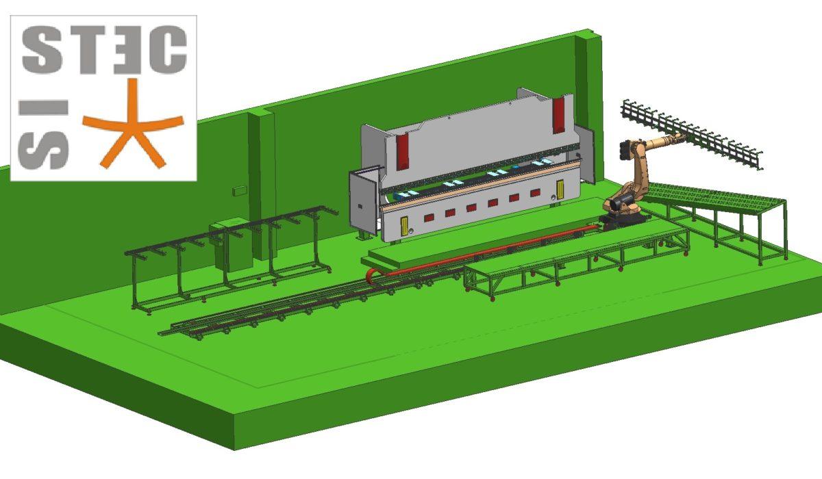 APRILE 2010 – presentazione di un impianto di piegatura per lattoneria