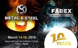 Metal & Steel 2019 | Egypt – Cairo | 14-16 March