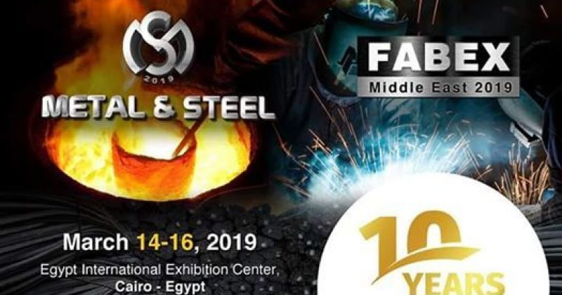 Metal & Steel | Egitto – Cairo | 14 -16 Marzo 2019