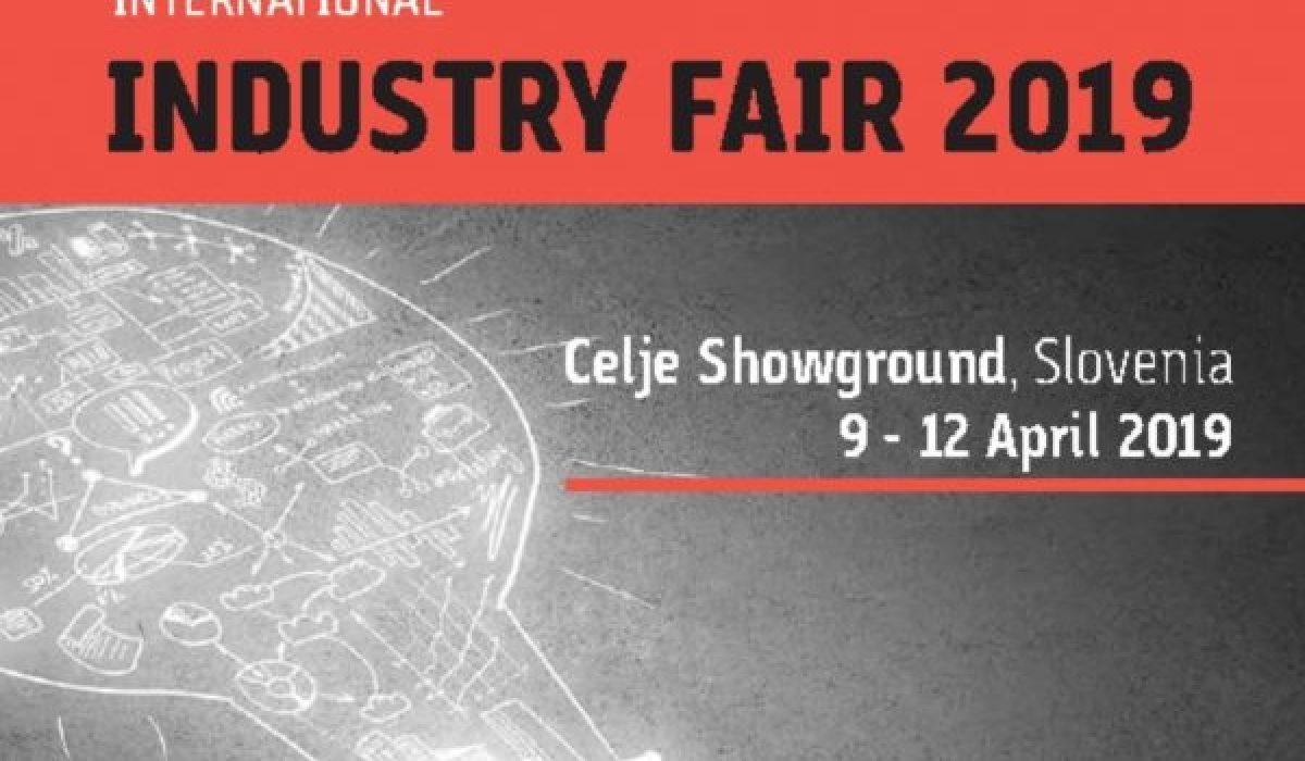 INTERNATIONAL INDUSTRY FAIR | Slovenia – Celje | 09 – 12 April 2019