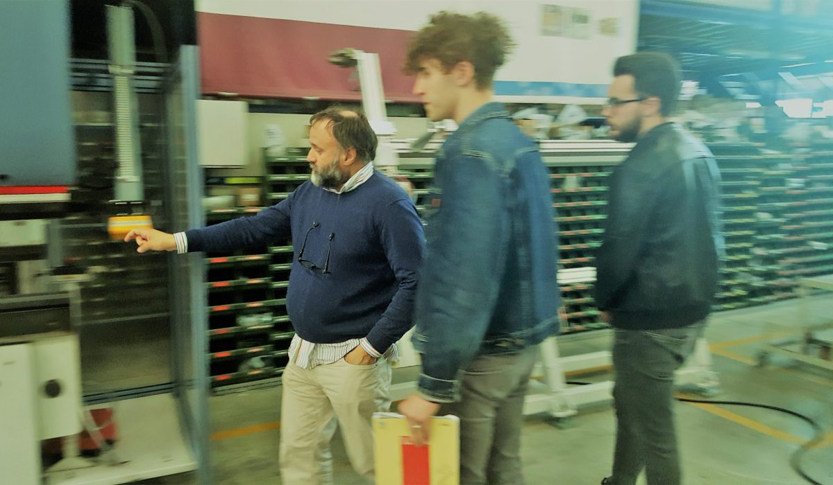 "Sistec welcomes the students of the Institute I.S.I.S. ""Lino Zanussi"" of Pordenone"